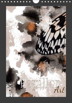 Papillon Art (Wandkalender 2019 DIN A4 hoch) von Koch,  Julia
