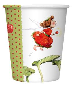 Pappbecher Erdbeerinchen von Dahle,  Stefanie