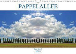 Pappelallee (Wandkalender 2019 DIN A4 quer) von Eppele,  Klaus