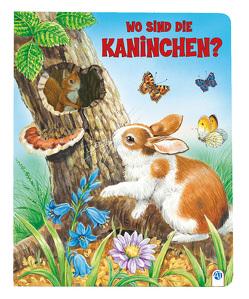 """Pappenbuch """"Wo sind die Kaninchen?"""""""