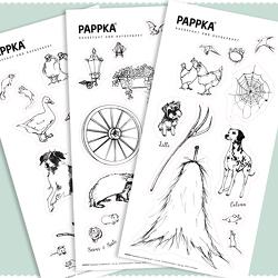 PAPPKA Sticker von MuseKind®,  GmbH