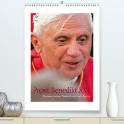Papst Benedikt XVI. Stationen seiner Pastoralreise nach Bayern (Premium, hochwertiger DIN A2 Wandkalender 2020, Kunstdruck in Hochglanz) von Riedmiller,  Andreas