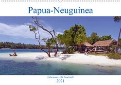 Papua-Neuguinea Geheimnisvolle Inselwelt (Wandkalender 2021 DIN A2 quer) von Scheu,  Thilo