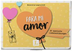 Para mi amor – Kärtchen im hübschen Mäppchen von Langenscheidt,  Redaktion