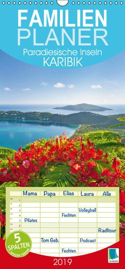 Paradiesische Inseln: Karibik (Wandkalender 2019 , 21 cm x 45 cm, hoch) von CALVENDO