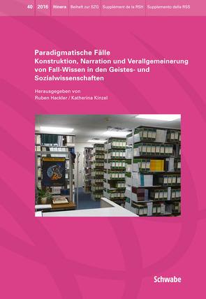 Paradigmatische Fälle von Hackler,  Ruben, Kinzel,  Katherina