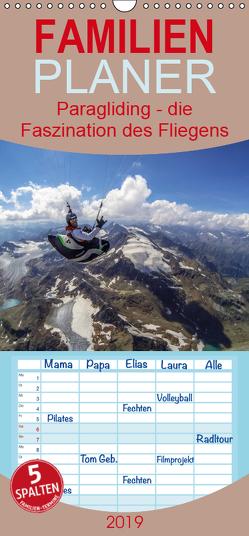 Paragliding – die Faszination des Fliegens – Familienplaner hoch (Wandkalender 2019 , 21 cm x 45 cm, hoch) von Frötscher - moments in air,  Andy