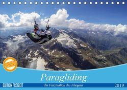 Paragliding – die Faszination des Fliegens (Tischkalender 2019 DIN A5 quer) von Frötscher - moments in air,  Andy