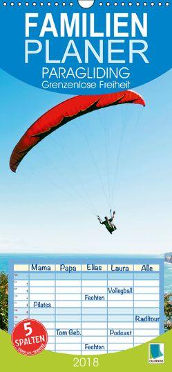 Paragliding: Grenzenlose Freiheit (Wandkalender 2018 PRO_49_format hoch) von CALVENDO,  k.A.