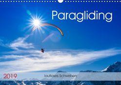 Paragliding – lautloses Schweben (Wandkalender 2019 DIN A3 quer) von Frötscher,  Andy