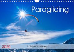 Paragliding – lautloses Schweben (Wandkalender 2020 DIN A4 quer) von Frötscher,  Andy