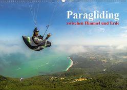 Paragliding – zwischen Himmel und Erde (Wandkalender 2019 DIN A2 quer) von Frötscher - moments in air,  Andy