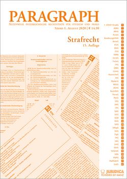 Paragraph – Strafrecht von Birklbauer,  Alois