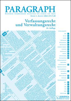 Paragraph – Verfassungs- und Verwaltungsrecht von Leitl-Staudinger,  Barbara