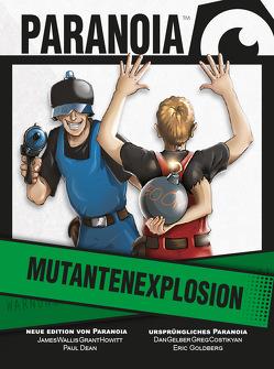 Paranoia – Mutantenexplosion Kartenset von Dean,  Paul, Howitt,  Grant, Wallis,  James