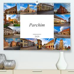 Parchim Impressionen (Premium, hochwertiger DIN A2 Wandkalender 2020, Kunstdruck in Hochglanz) von Meutzner,  Dirk