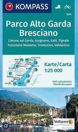 Parco Alto Garda Bresciano von KOMPASS-Karten GmbH