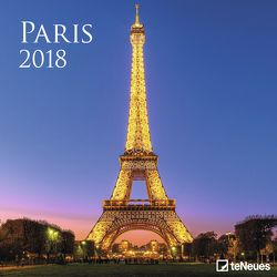 Paris Broschürenkalender 2018