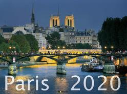 Paris 2020 – Frankreich – France – Bildkalender quer (56 x 42) – Reisekalender – Wandkalender von ALPHA EDITION, Haas,  Horst, Nomada Verlag