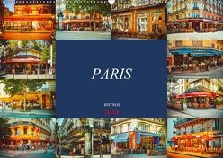 Paris Bistros (Wandkalender 2018 DIN A2 quer) von Meutzner,  Dirk