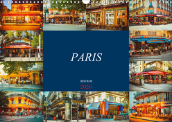 Paris Bistros (Wandkalender 2020 DIN A3 quer) von Meutzner,  Dirk