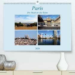 Paris, die Stadt an der Seine (Premium, hochwertiger DIN A2 Wandkalender 2020, Kunstdruck in Hochglanz) von Seidl,  Helene