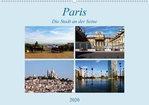 Paris, die Stadt an der Seine (Wandkalender 2020 DIN A2 quer) von Seidl,  Helene