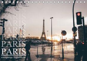 Paris – einzigartige Augenblicke (Tischkalender 2018 DIN A5 quer) von Lindau,  Christian