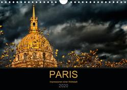 Paris – Impressionen einer Weltstadt (Wandkalender 2020 DIN A4 quer) von Probst,  Helmut
