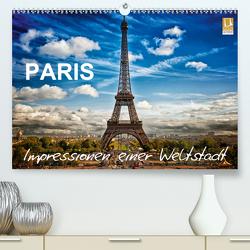 Paris – Impressionen einer WeltstadtCH-Version (Premium, hochwertiger DIN A2 Wandkalender 2021, Kunstdruck in Hochglanz) von Probst,  Helmut