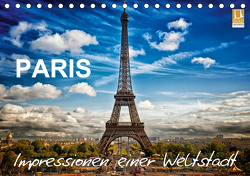 Paris – Impressionen einer WeltstadtCH-Version (Tischkalender 2021 DIN A5 quer) von Probst,  Helmut