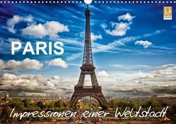 Paris – Impressionen einer WeltstadtCH-Version (Wandkalender 2021 DIN A3 quer) von Probst,  Helmut