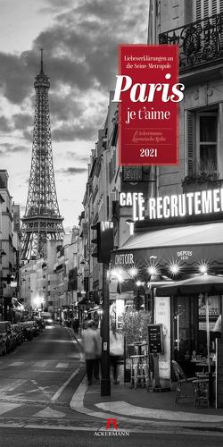 Paris, je t'aime – Literatur-Kalender 2021