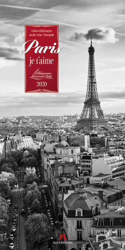 Paris, je t'aime – Literaturkalender 2020