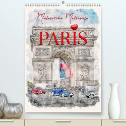 Paris – malerische Metropole (Premium, hochwertiger DIN A2 Wandkalender 2020, Kunstdruck in Hochglanz) von Roder,  Peter
