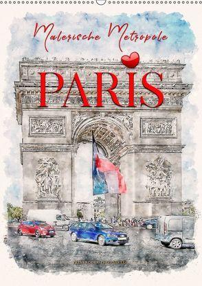 Paris – malerische Metropole (Wandkalender 2019 DIN A2 hoch) von Roder,  Peter