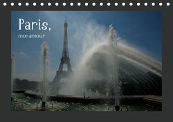 Paris, mon amour (Tischkalender 2021 DIN A5 quer) von Falk,  Dietmar