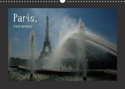 Paris, mon amour (Wandkalender 2018 DIN A3 quer) von Falk,  Dietmar