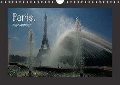 Paris, mon amour (Wandkalender 2018 DIN A4 quer) von Falk,  Dietmar
