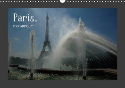 Paris, mon amour (Wandkalender 2019 DIN A3 quer) von Falk,  Dietmar