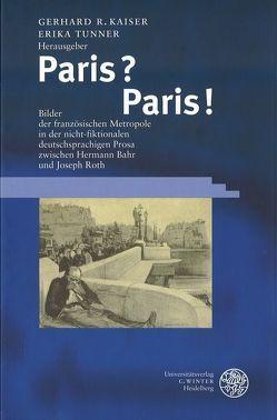 Paris? Paris! von Kaiser,  Gerhard R, Tunner,  Erika
