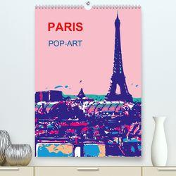 Paris pop-art (Premium, hochwertiger DIN A2 Wandkalender 2020, Kunstdruck in Hochglanz) von Sock,  Reinhard