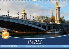 Paris Seine-Impressionen (Wandkalender 2018 DIN A3 quer) von Kruse,  Gisela