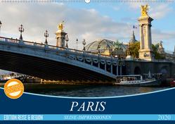 Paris Seine-Impressionen (Wandkalender 2020 DIN A2 quer) von Kruse,  Gisela