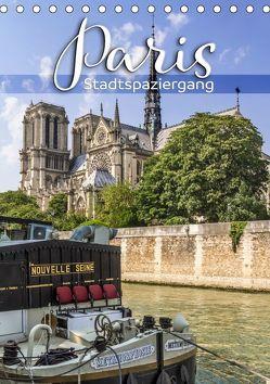PARIS Stadtspaziergang (Tischkalender 2019 DIN A5 hoch) von Viola,  Melanie