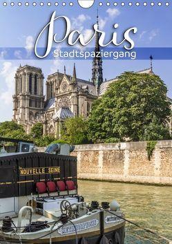PARIS Stadtspaziergang (Wandkalender 2019 DIN A4 hoch) von Viola,  Melanie