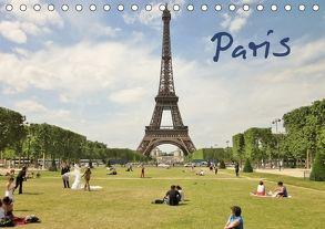 Paris (Tischkalender 2018 DIN A5 quer) von ViennaFrame,  k.A.