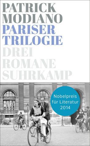 Pariser Trilogie. Abendgesellschaft, Außenbezirke, Familienstammbuch von Modiano,  Patrick, Schürenberg,  Walter