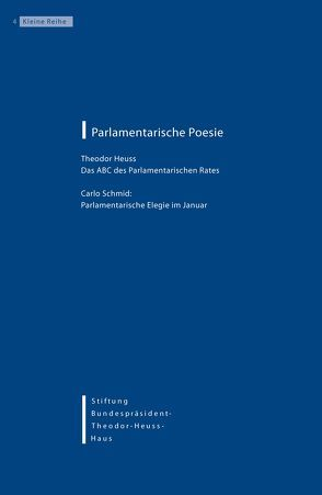 Parlamentarische Poesie von Ketterle,  Christiane, Kruip,  Gudrun