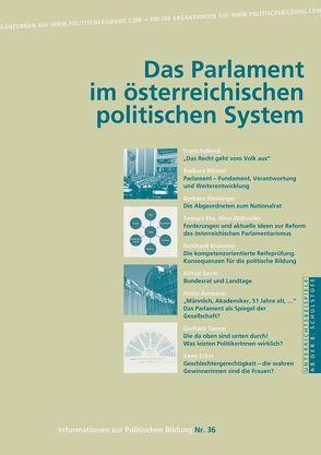 Parlamente im politischen System Österreichs von Diendorfer,  Gertraud